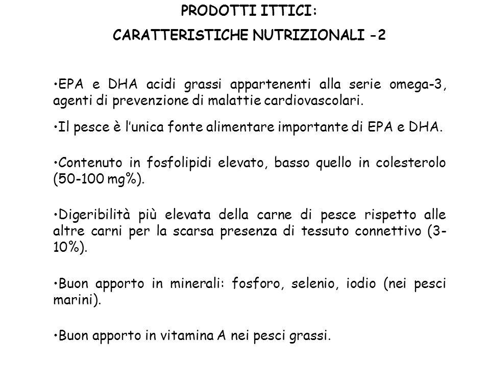 CARATTERISTICHE NUTRIZIONALI -2