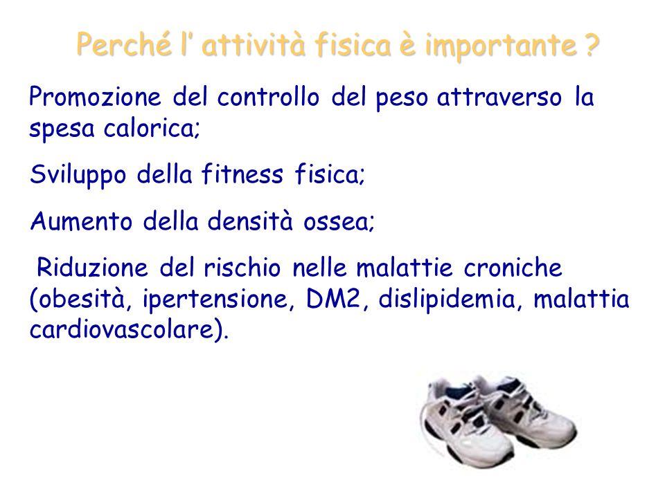 Perché l' attività fisica è importante
