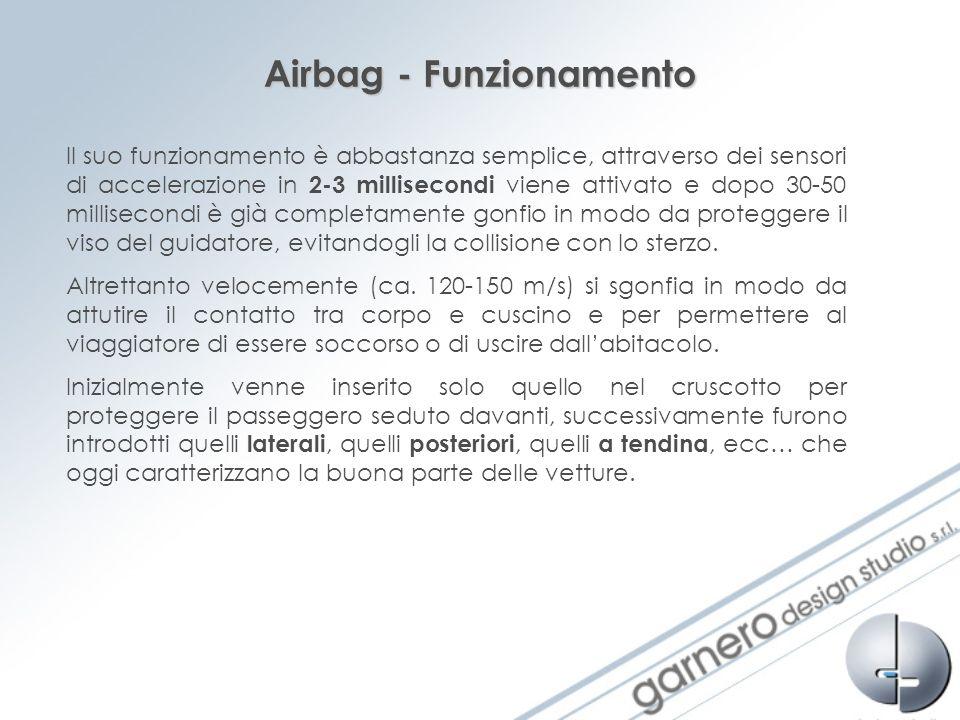 Airbag - Funzionamento