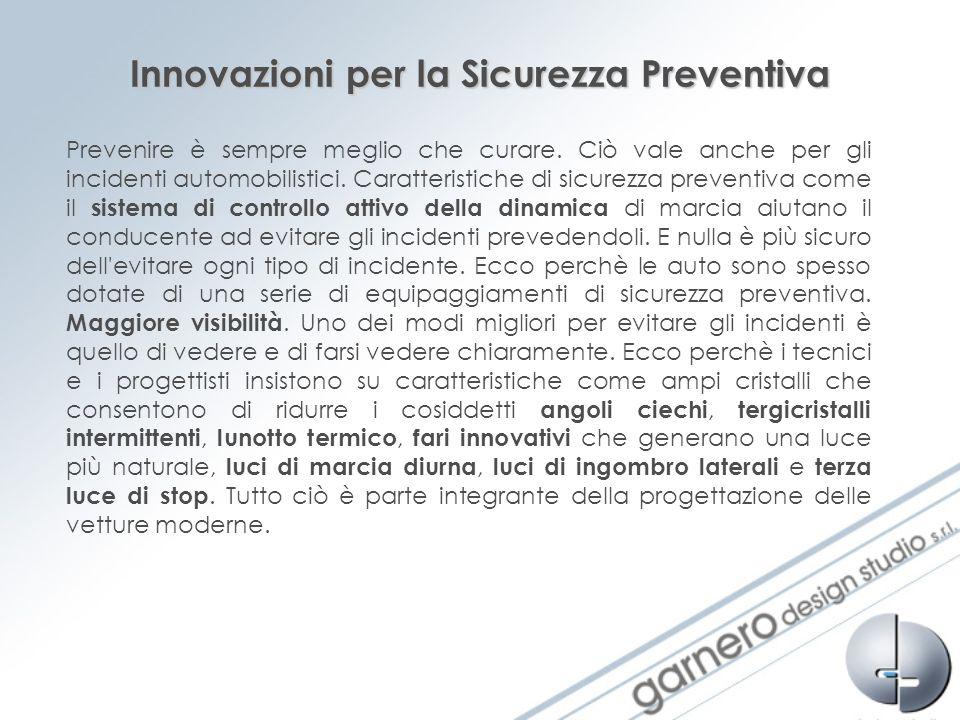 Innovazioni per la Sicurezza Preventiva