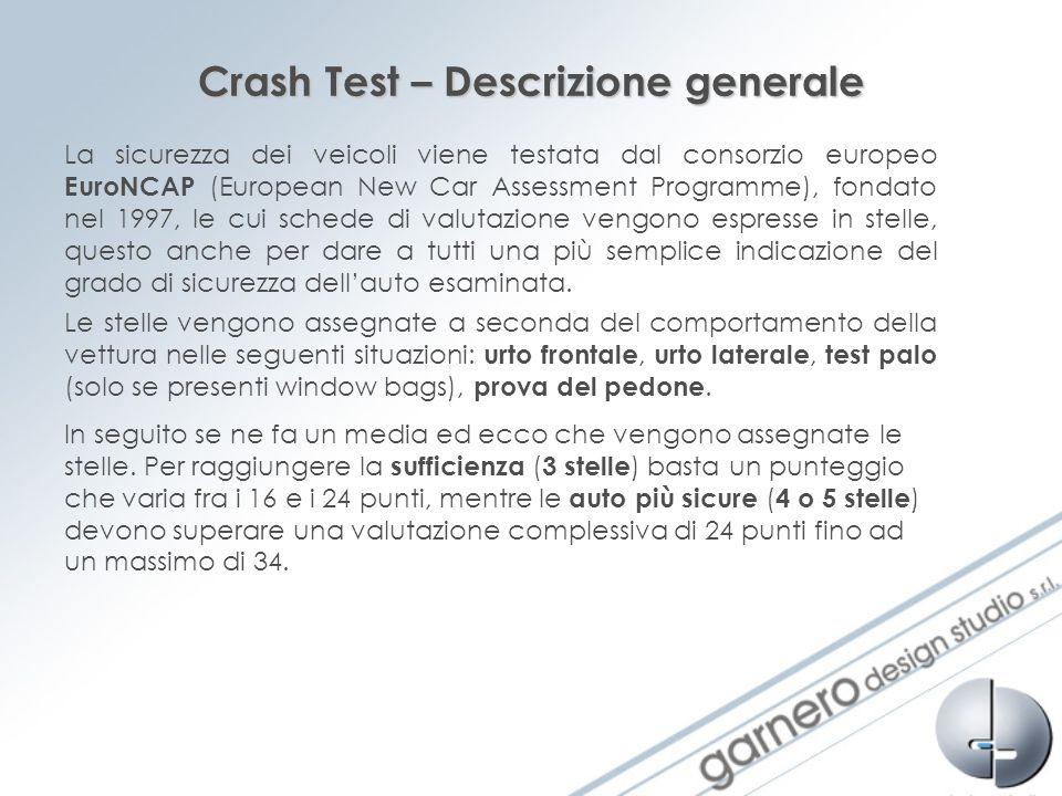 Crash Test – Descrizione generale