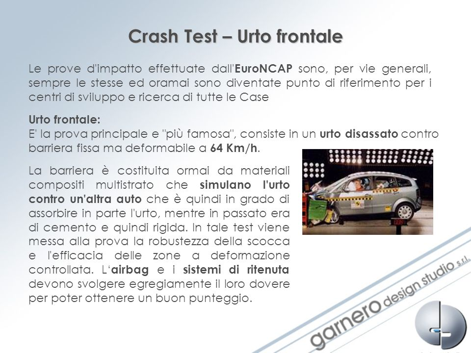 Crash Test – Urto frontale
