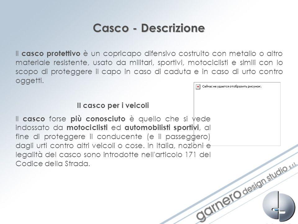 Casco - Descrizione.