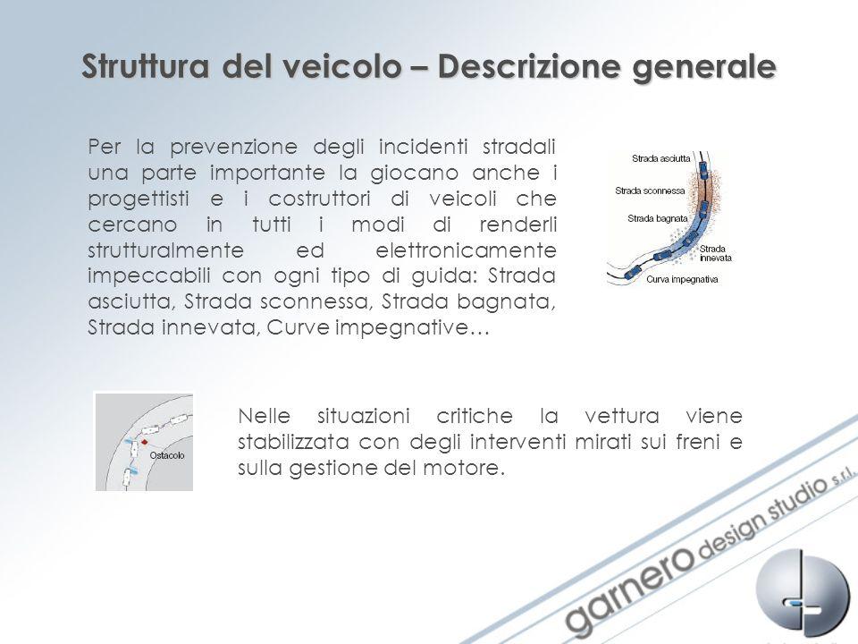 Struttura del veicolo – Descrizione generale