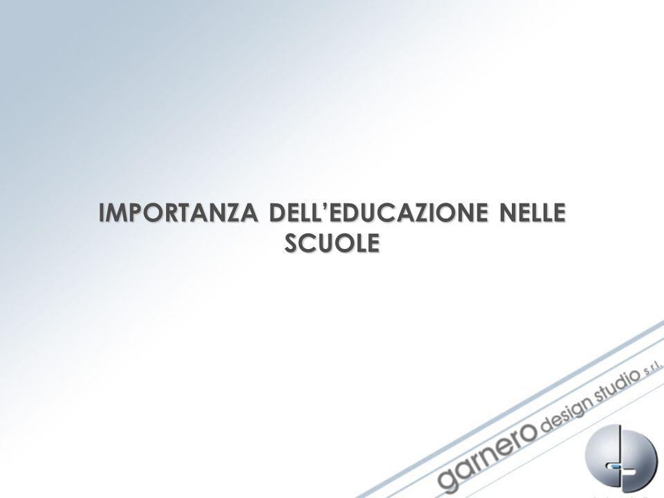 IMPORTANZA DELL'EDUCAZIONE NELLE SCUOLE