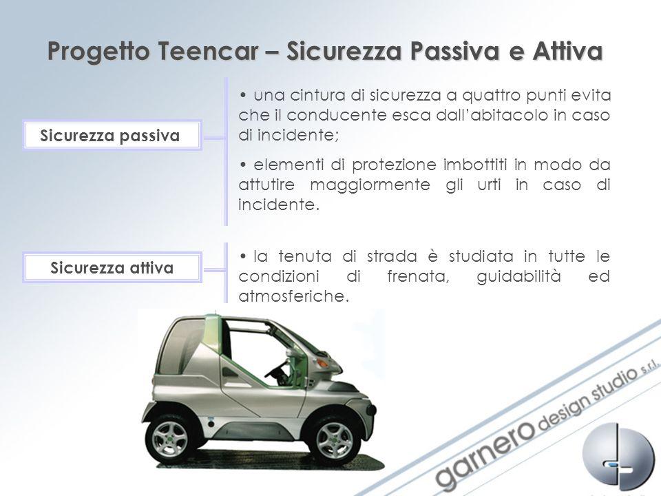 Progetto Teencar – Sicurezza Passiva e Attiva