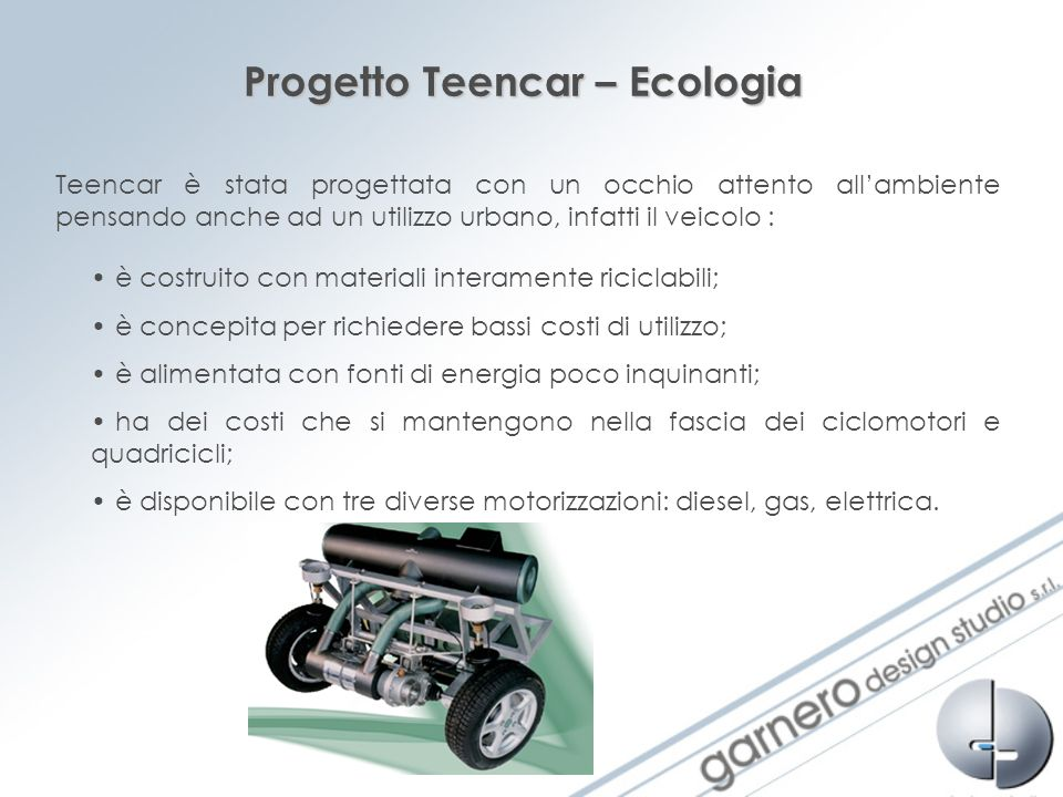 Progetto Teencar – Ecologia