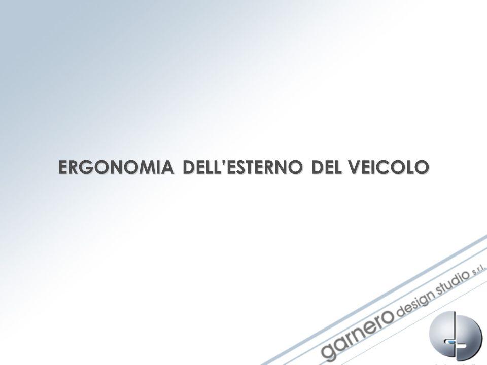 ERGONOMIA DELL'ESTERNO DEL VEICOLO