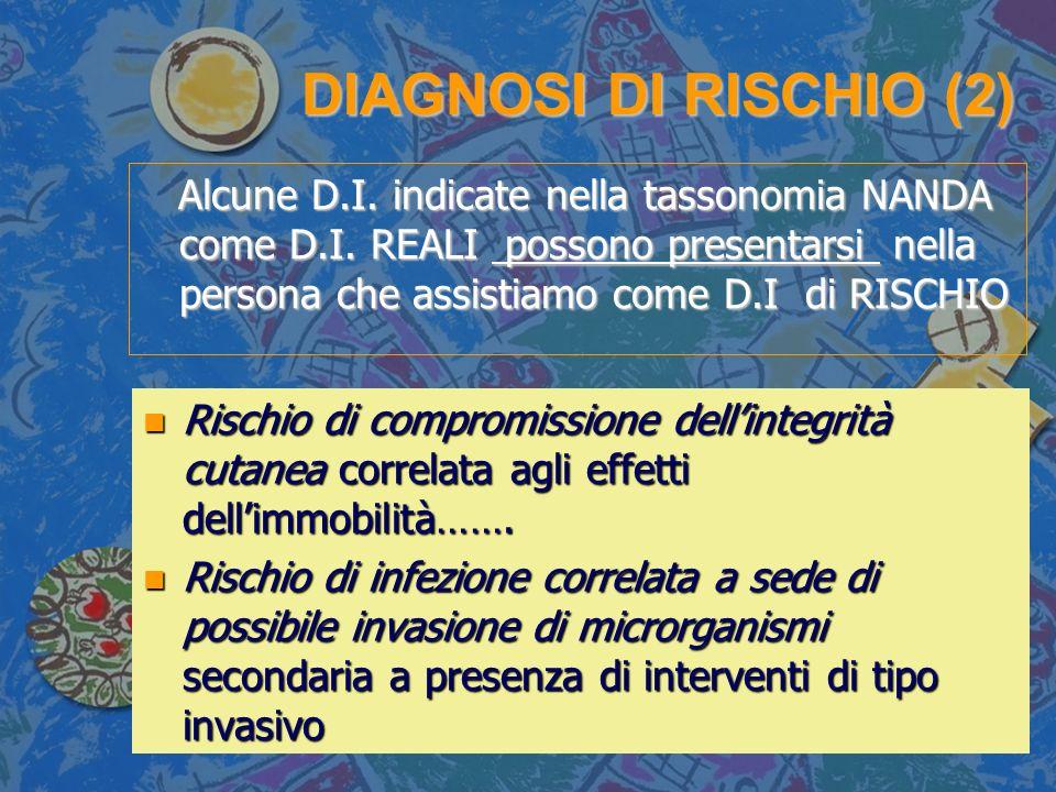 DIAGNOSI DI RISCHIO (2)