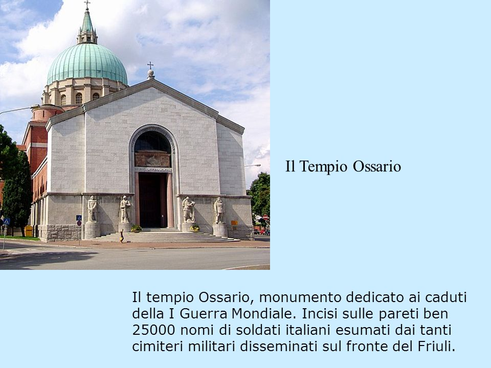 Il Tempio Ossario