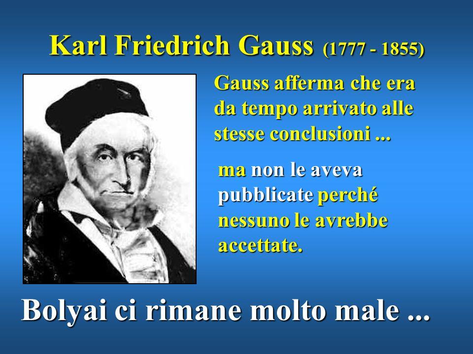 Karl Friedrich Gauss (1777 - 1855)