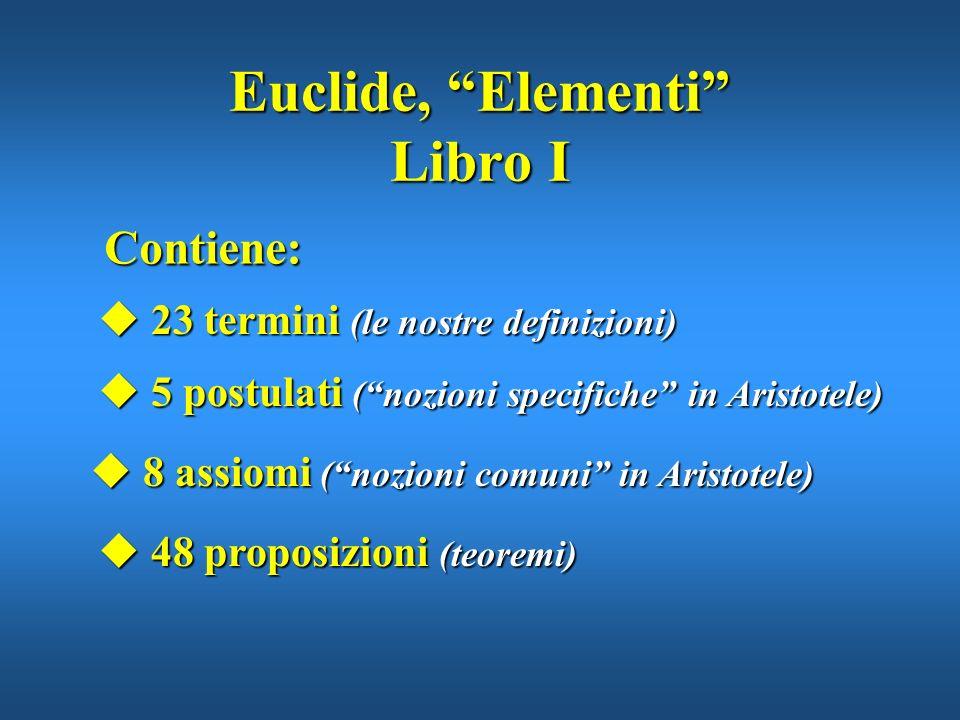 Euclide, Elementi Libro I