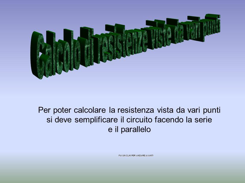 Calcolo di resistenze viste da vari punti
