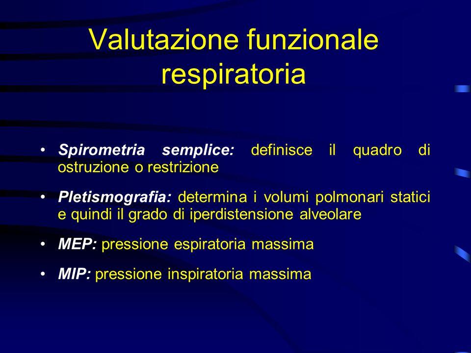 Valutazione funzionale respiratoria