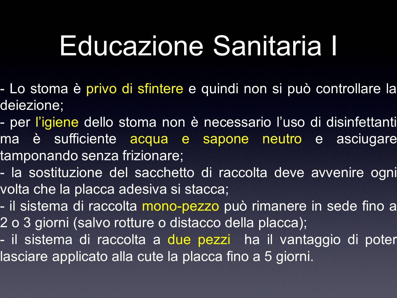 Educazione Sanitaria I