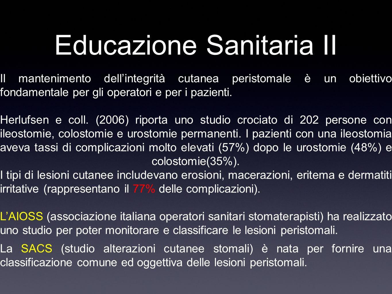 Educazione Sanitaria II