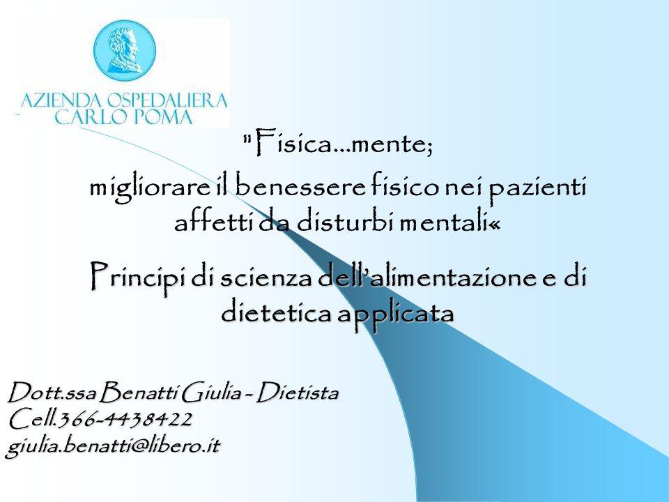 Principi di scienza dell'alimentazione e di dietetica applicata