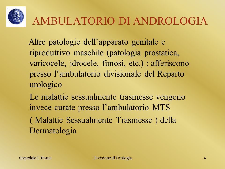 AMBULATORIO DI ANDROLOGIA