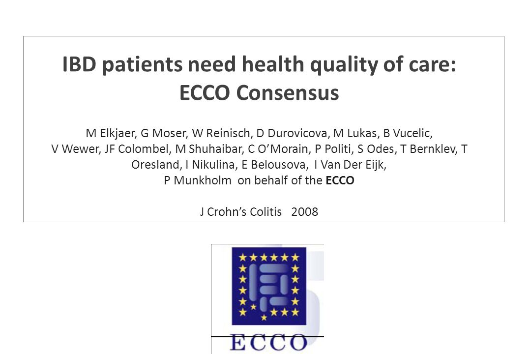 IBD patients need health quality of care: