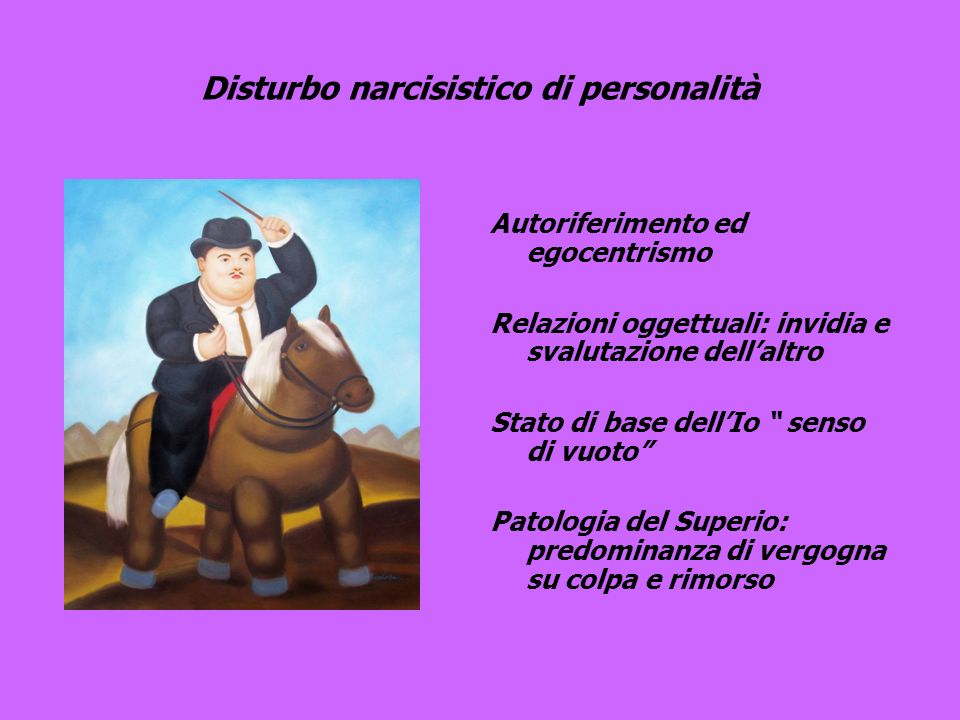 Disturbo narcisistico di personalità