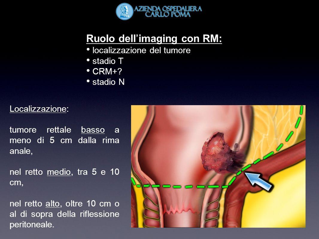 Ruolo dell'imaging con RM: