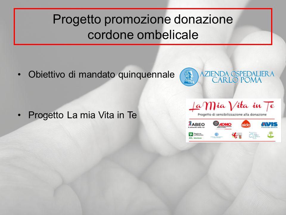 Progetto promozione donazione cordone ombelicale