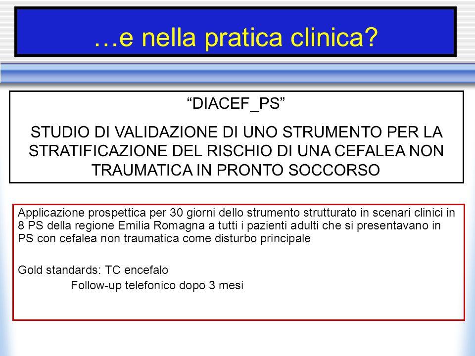 …e nella pratica clinica