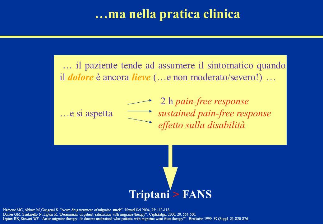 …ma nella pratica clinica