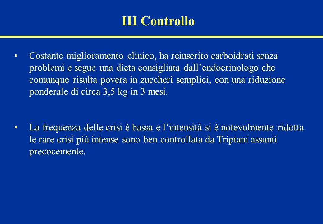III Controllo