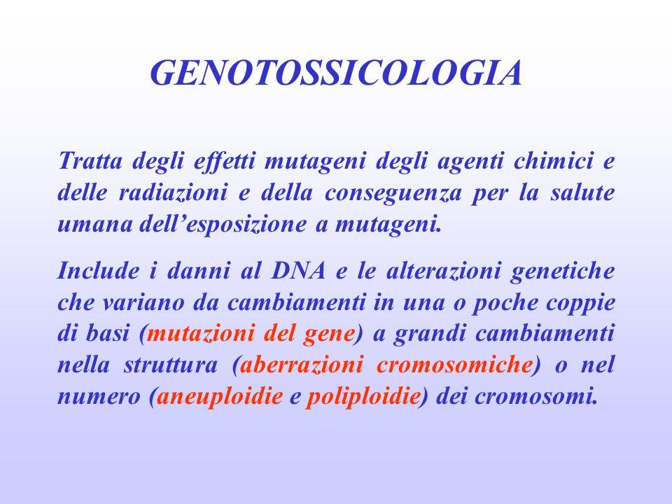 GENOTOSSICOLOGIA