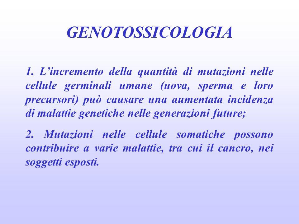 genotossicologia 27/03/2017. GENOTOSSICOLOGIA.