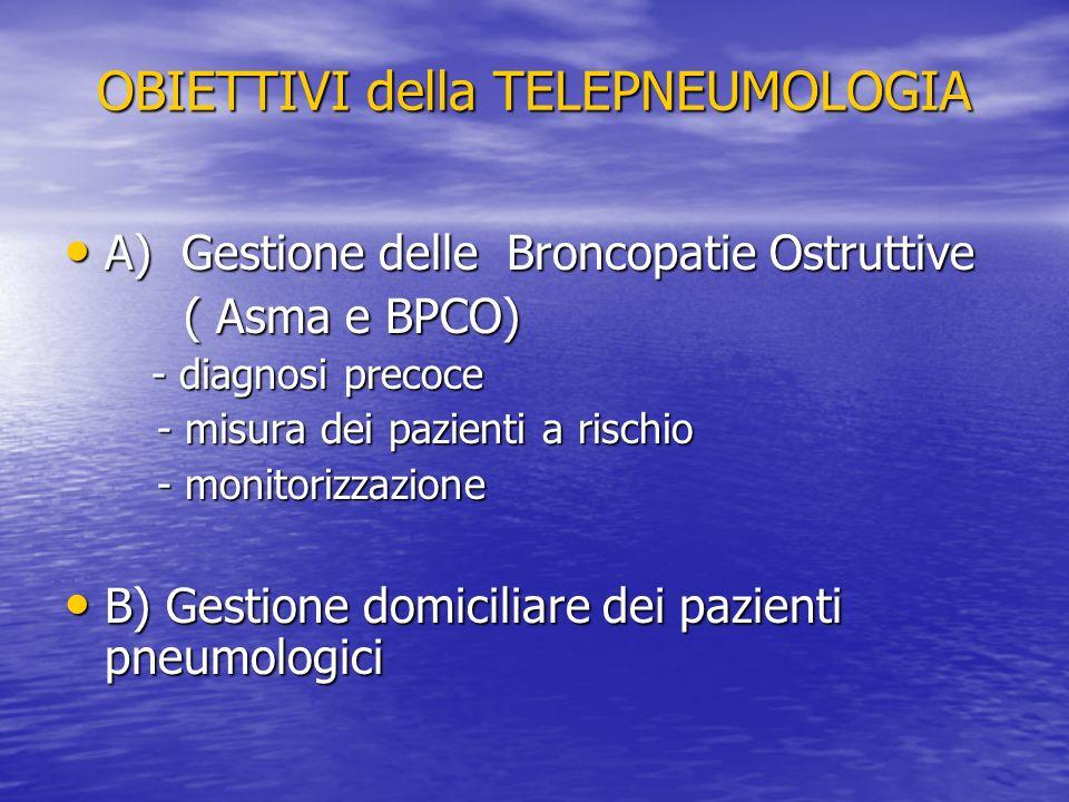 OBIETTIVI della TELEPNEUMOLOGIA