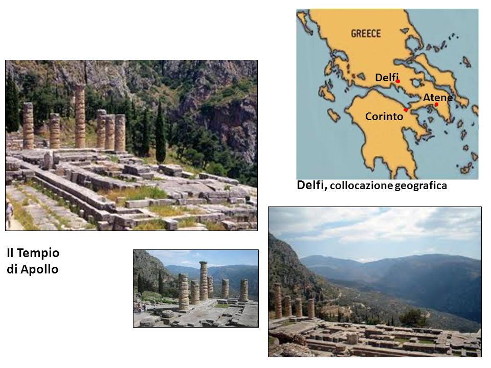 Delfi, collocazione geografica