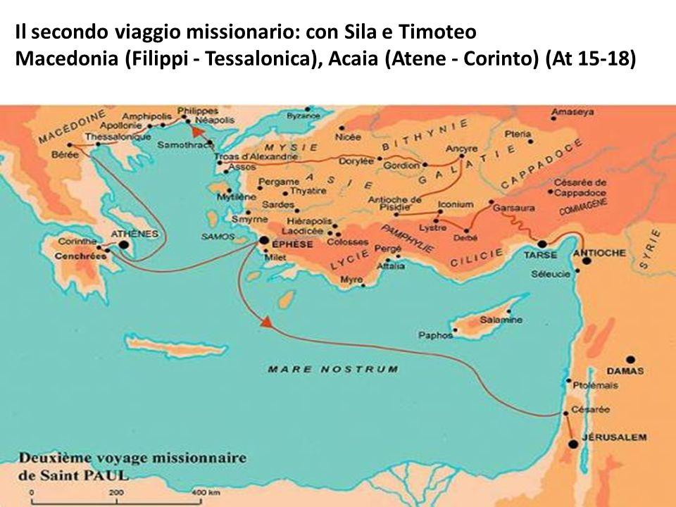 Il secondo viaggio missionario: con Sila e Timoteo