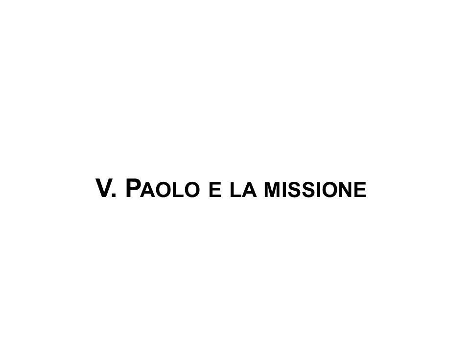 V. Paolo e la missione