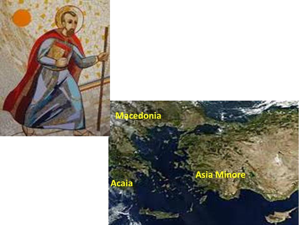 Macedonia Asia Minore Acaia