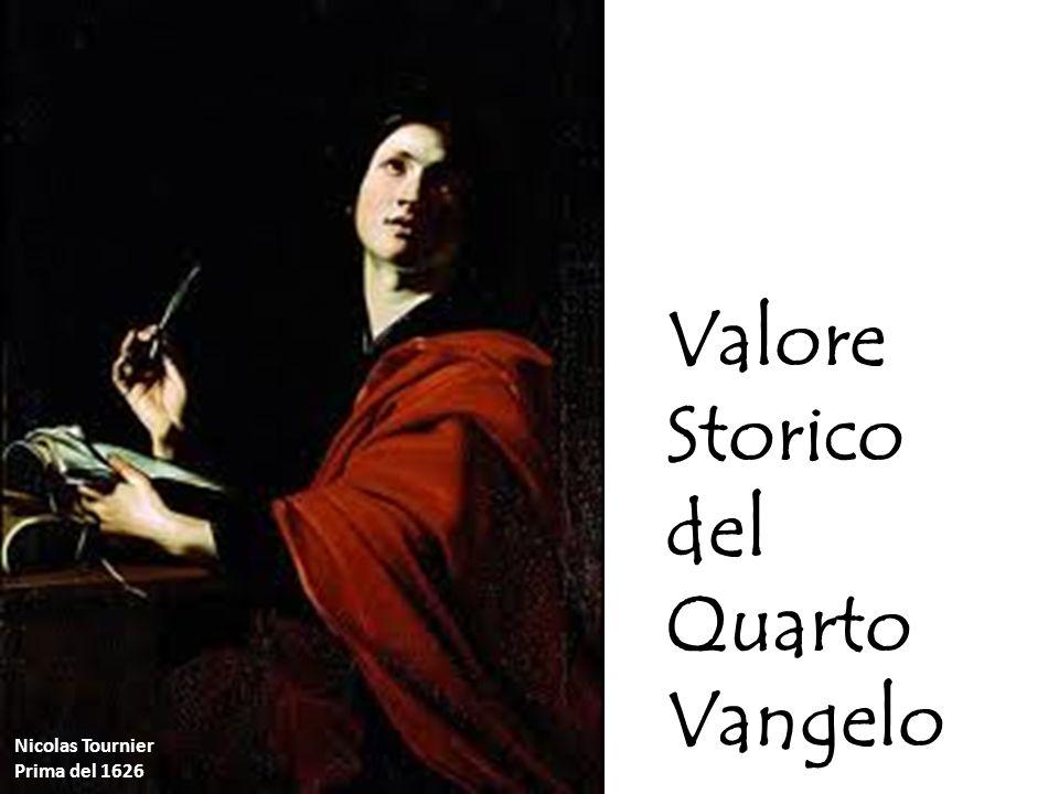 Valore Storico del Quarto Vangelo Nicolas Tournier Prima del 1626