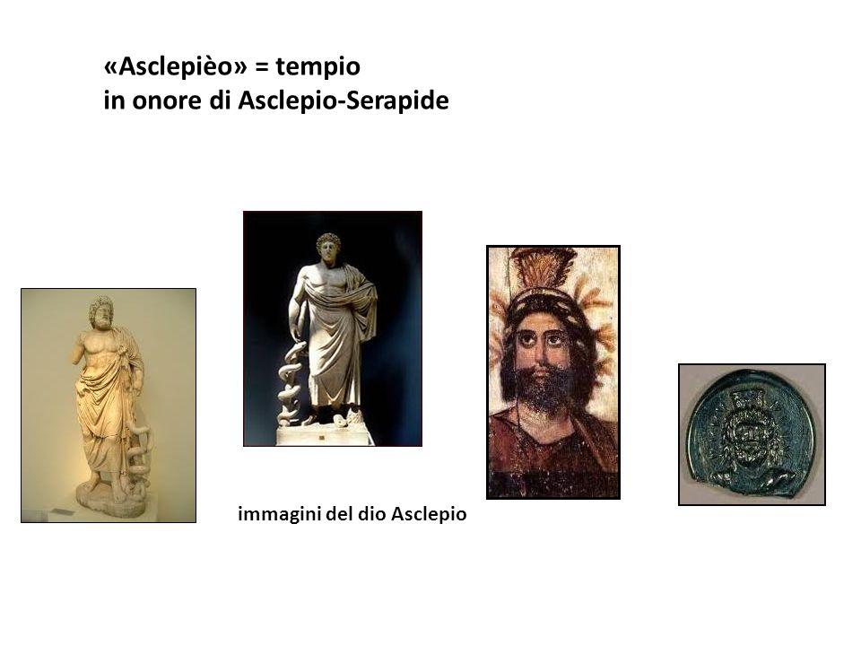 in onore di Asclepio-Serapide