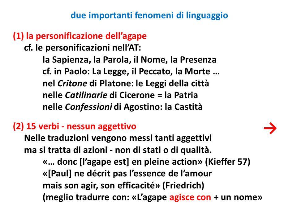 due importanti fenomeni di linguaggio