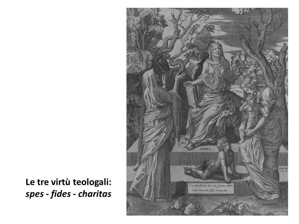 Le tre virtù teologali: