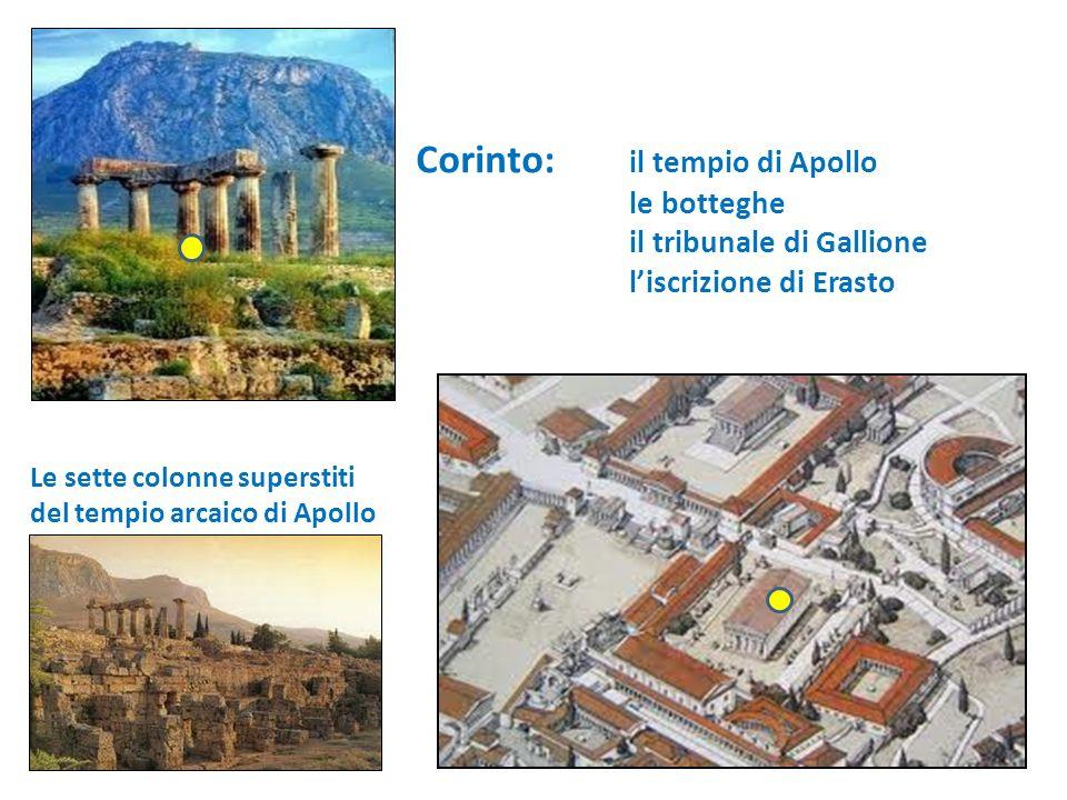 Corinto: il tempio di Apollo