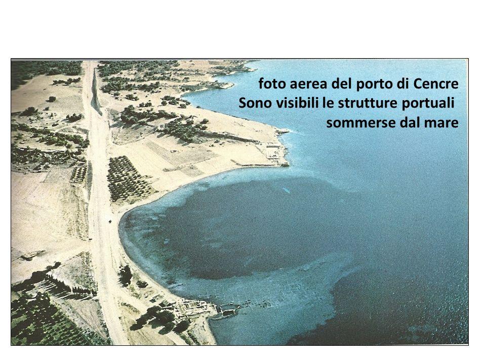 foto aerea del porto di Cencre