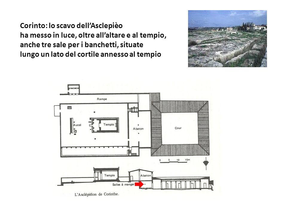 Corinto: lo scavo dell'Asclepièo
