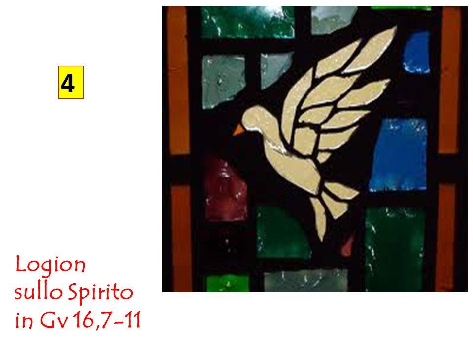 4 Logion sullo Spirito in Gv 16,7-11
