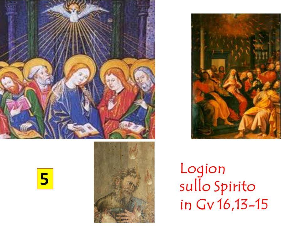 Logion sullo Spirito in Gv 16,13-15 5