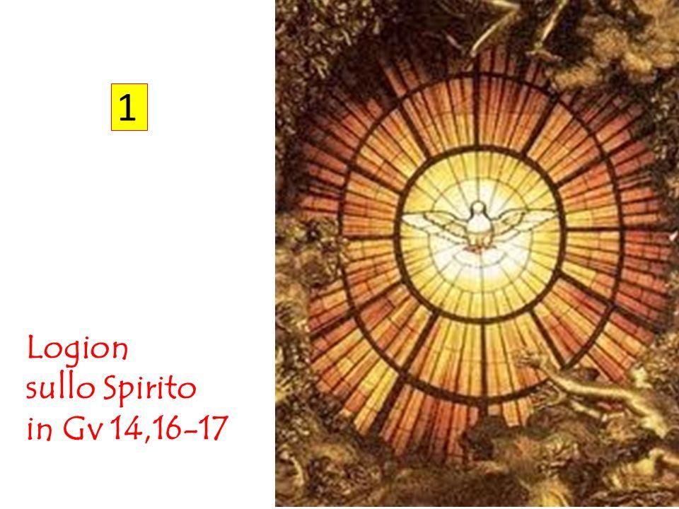 1 Logion sullo Spirito in Gv 14,16-17
