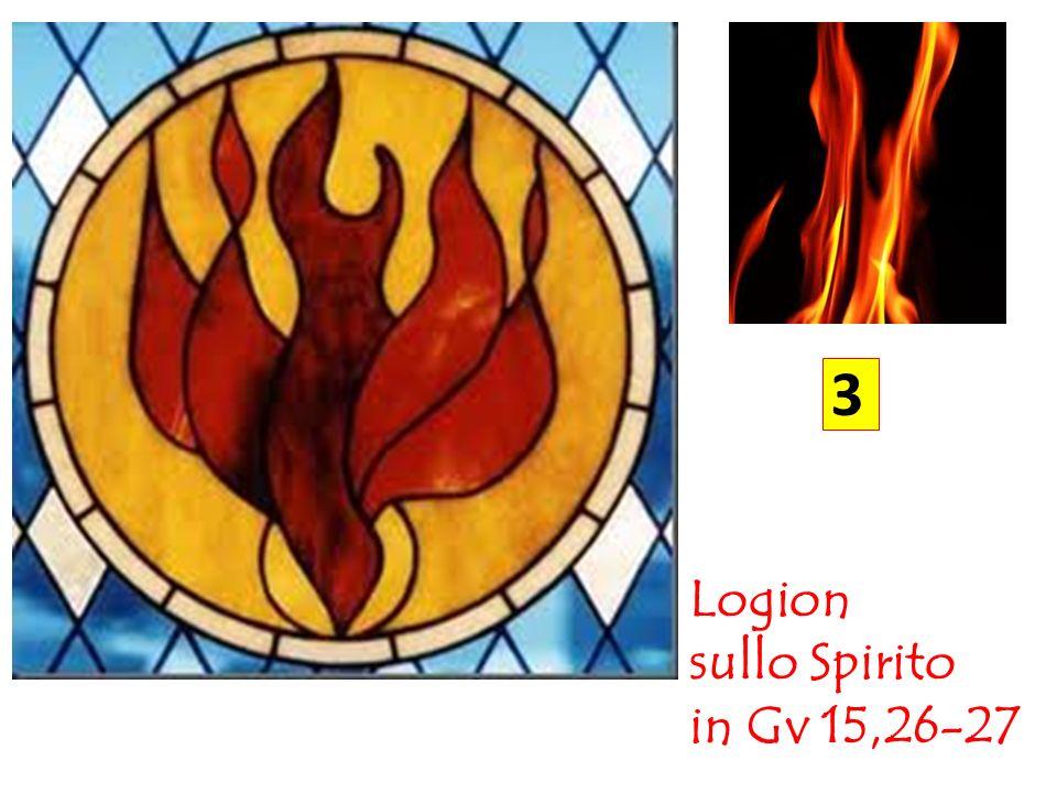 3 Logion sullo Spirito in Gv 15,26-27