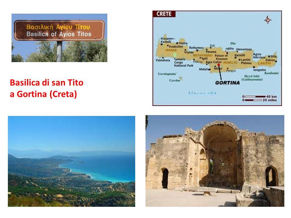 Basilica di san Tito a Gortina (Creta)