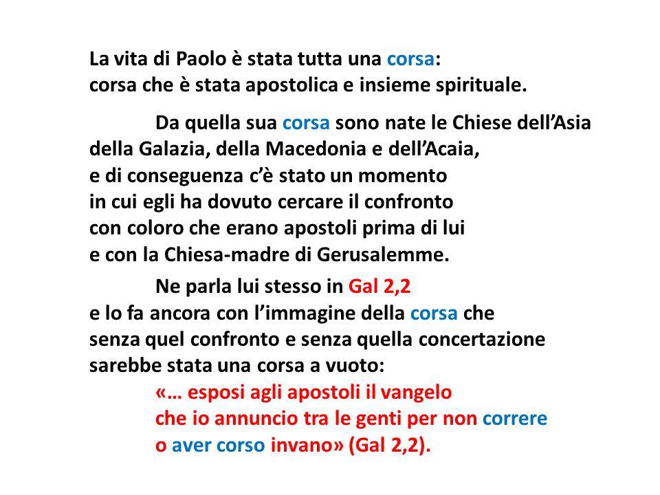 La vita di Paolo è stata tutta una corsa: