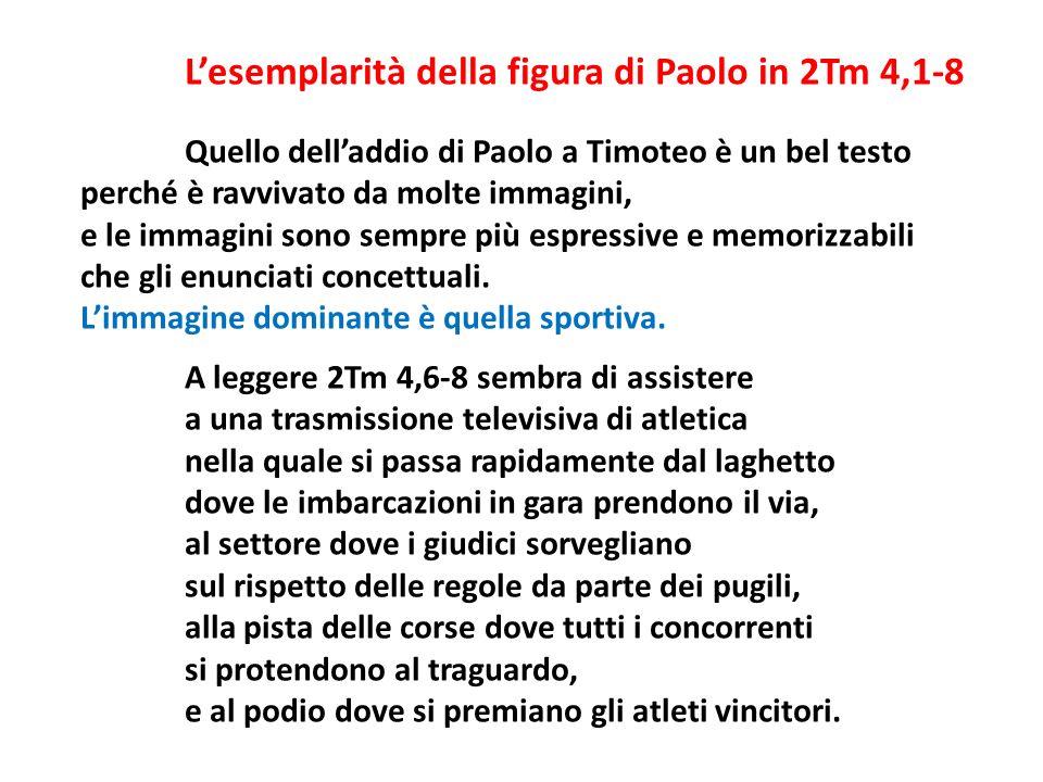 L'esemplarità della figura di Paolo in 2Tm 4,1-8